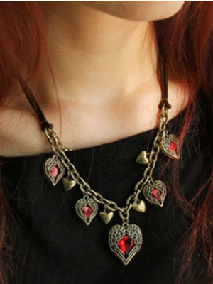 Occident Retro Exquisite Angel Heart Stylish Hot Sale Necklace