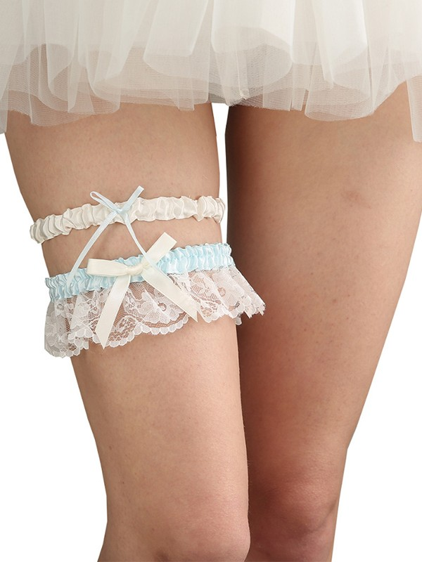 Pretty Bridal/Feminine Cloth With Lace Garters