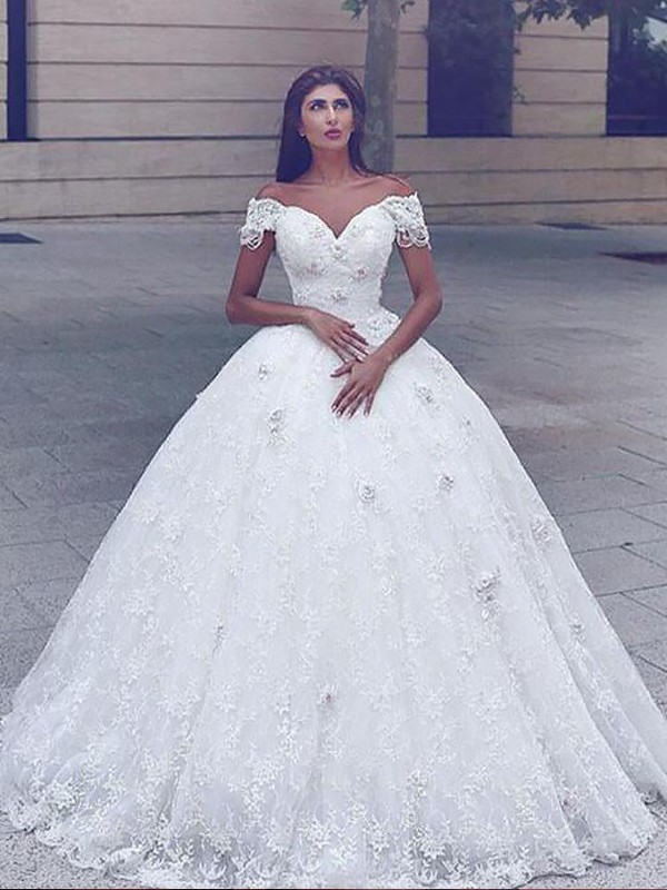 Befits Your Brilliance Mermaid Style Lace Floor-Length Straps Wedding Dress