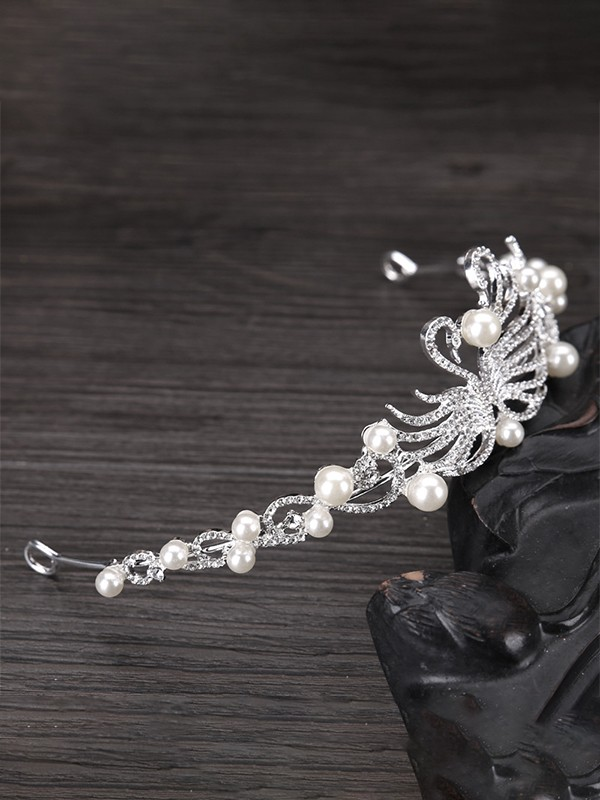Shinning Flowers Pearl Headpieces