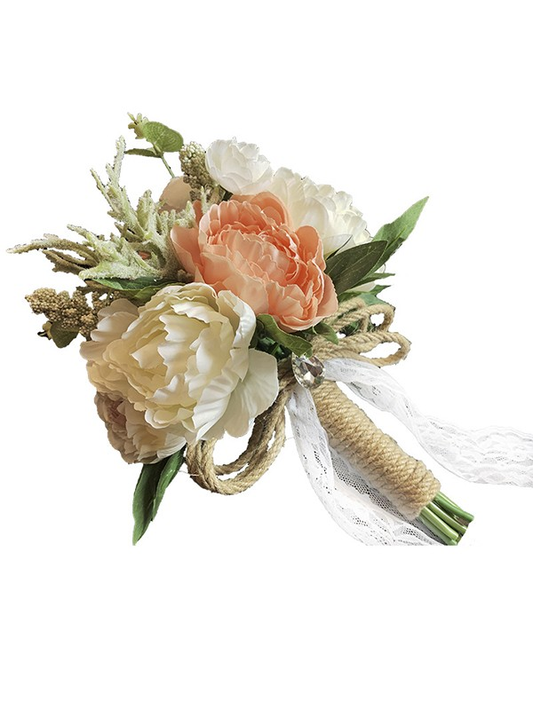Fashion Free-Form Plastic Bridal Bouquets